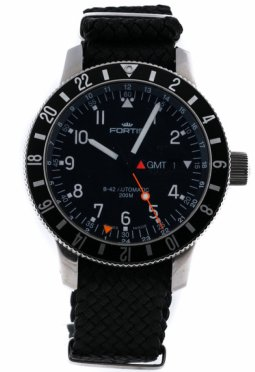 Fortis B-42 Official Cosmonauts Chronograph GMT
