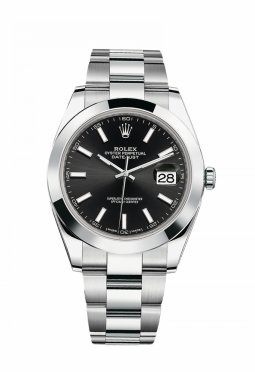 Rolex Oyster Perpetual Datejust 41 Black
