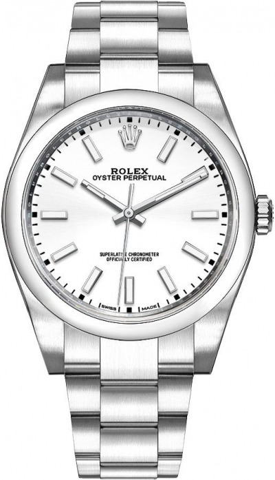 Rolex Oyster Perpetual 39 White Dial